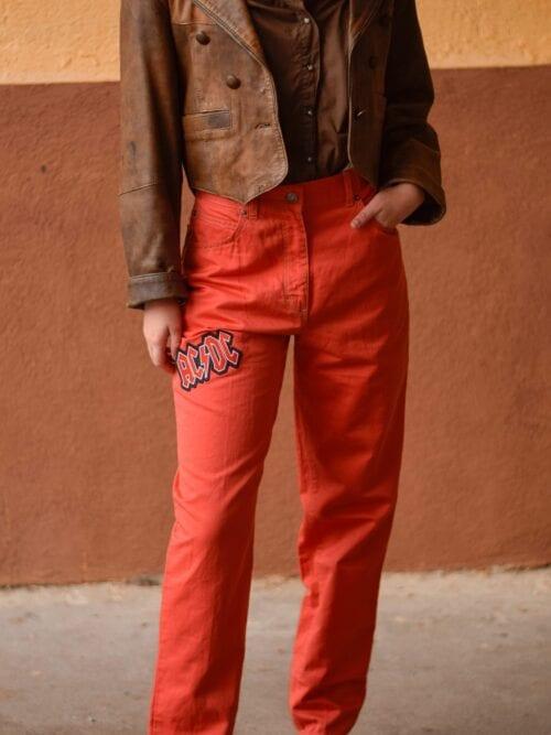 Pantaloni AC/DC  | Mărime M