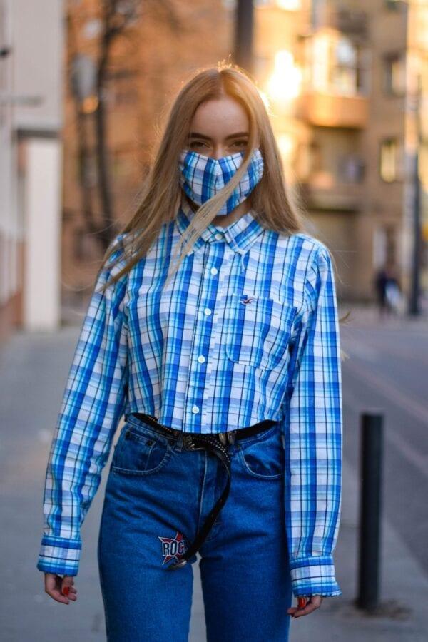 shirt and mask