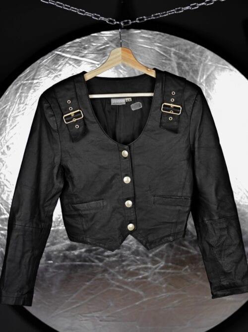 Jachetă de piele | Mărime XS/S