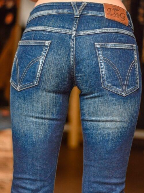 Pantaloni evazați Dolce&Gabbana | Mărime 26
