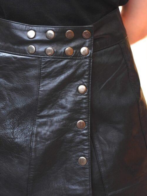Fustă de piele| Mărime ajustabilă
