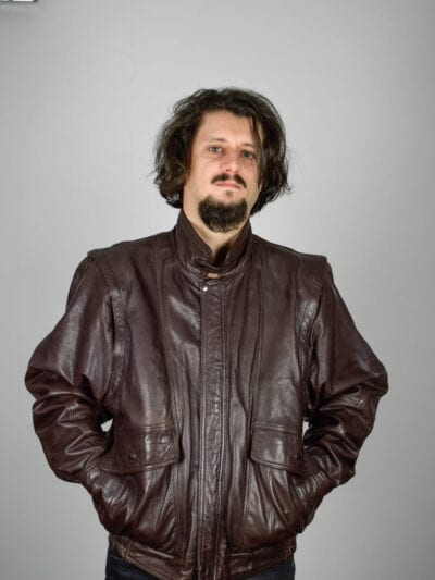 Jachetă piele Mapinol | M