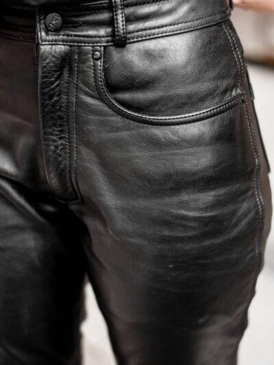 Pantaloni de piele naturală iXS | M