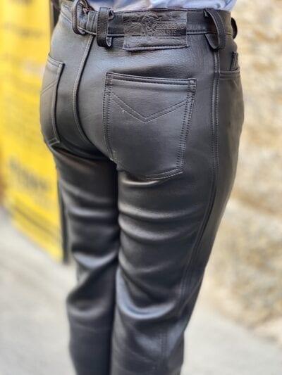 Pantaloni piele naturală | L