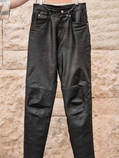 Pantaloni din piele naturală | L